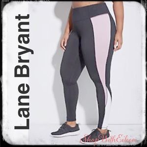 Lane Bryant Double Inset Wicking Active Leggings
